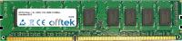 240 Pin Dimm - 1.5v - DDR3 - PC3-10600 (1333Mhz) - Unbuffered ECC  4GB Module