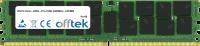 288 Pin Dimm - DDR4 - PC4-19200 (2400Mhz) - LRDIMM ECC Dimm Load Reduced 128GB Module