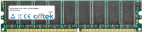 184 Pin Dimm - 2.5V - DDR - PC2700 (333Mhz) - Unbuffered ECC 1GB Module