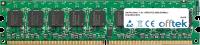 240 Pin Dimm - 1.8v - DDR2 PC2-4200 (533Mhz) -   Unbuffered ECC 1GB Module