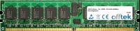 240 Pin Dimm - 1.8v - DDR2 - PC2-3200 (400Mhz) - ECC Registered 512MB Module