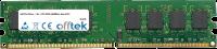 240 Pin Dimm - 1.8v - PC2-3200 (400Mhz)- Non-ECC 256MB Module
