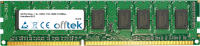 240 Pin Dimm - 1.5v - DDR3 - PC3-10600 (1333Mhz) - Unbuffered ECC  2GB Module