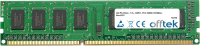 240 Pin Dimm - 1.5v - DDR3 - PC3-10600 (1333Mhz) - Non-ECC 4GB Module