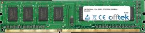 240 Pin Dimm - 1.5v - DDR3 - PC3-12800 (1600Mhz) - Non-ECC 4GB Module