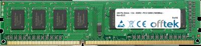 240 Pin Dimm - 1.5v - DDR3 - PC3-12800 (1600Mhz) - Non-ECC 8GB Module