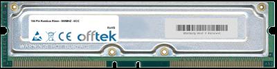 184 Pin Rambus Rimm - 800MHZ - ECC 128MB Module