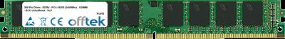 288 Pin Dimm - DDR4 - PC4-19200 (2400Mhz) - UDIMM - ECC Unbuffered - VLP 16GB Module