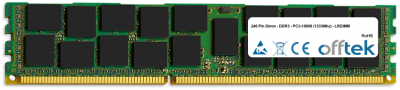 240 Pin Dimm - DDR3 - PC3-10600 (1333Mhz) - LRDIMM 32GB Module