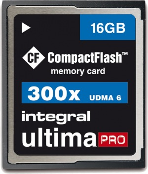 Integral Ultima-Pro Compact Flash 16GB Card (300x)