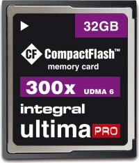 Integral Ultima-Pro Compact Flash 32GB Card