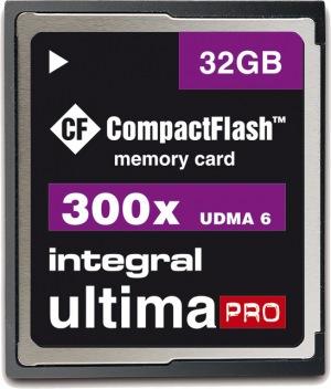 Integral Ultima-Pro Compact Flash 32GB Card