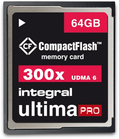 Integral Ultima-Pro Compact Flash 300X 64GB Card