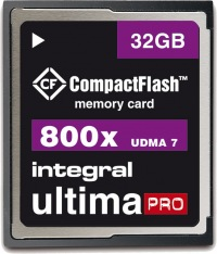 Integral Ultima-Pro Compact Flash 800X 32GB Card
