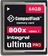 Integral Ultima-Pro Compact Flash 800X 64GB Card
