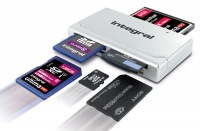 Integral High Speed USB 2.0 - 19 in 1 Card Reader Card Reader