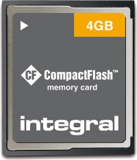 Integral Compact Flash 4GB Card