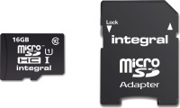 Integral Micro SDHC (with Adaptor)  16GB Card