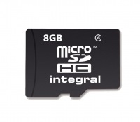 Integral Micro SDHC (No Adaptor) 8GB Card (Class 4)