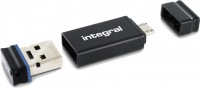 Integral USB OTG Adapter With Fusion 2.0 Drive 16GB