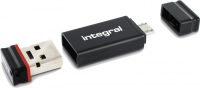 Integral USB OTG Adapter With Fusion 2.0 Drive 8GB