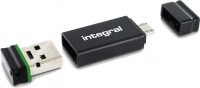 Integral USB OTG Adapter With Fusion 2.0 Drive 32GB