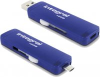 Integral Slide USB 3.0 OTG Drive 16GB