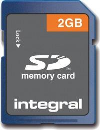 Integral Secure Digital/SD Card 2GB Card
