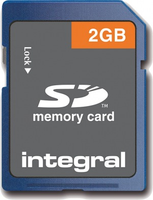 Integral Secure Digital/SD Card 2GB Card