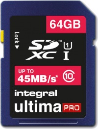 Integral SDXC 64GB Card