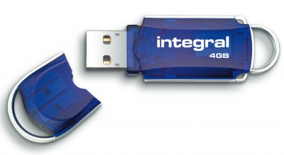 Integral Courier USB Pen Drive 4GB Drive