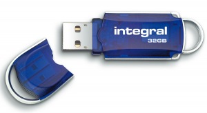 Integral Courier USB Pen Drive 32GB Drive (34x speed)