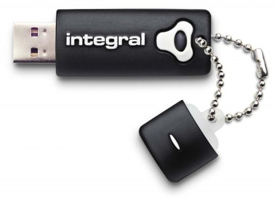 Integral Splash Drive 8GB Drive (Black)