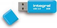 Integral Neon USB 3.0 Flash Drive 8GB