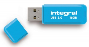 Integral Neon USB 3.0 Flash Drive 16GB