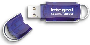 Integral Courier Drive Encrypted USB - (FIPS 197) 32GB Drive