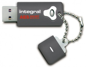 Integral Crypto Drive Encrypted USB - (FIPS 197) 2GB Drive