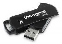 Integral Secure 360 Pen Drive 8GB Drive