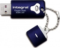 Integral Crypro Dual Drive Encrypted USB - (FIPS 197) 16GB Drive