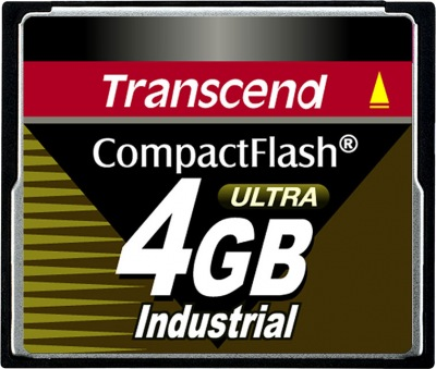 Transcend Industrial Ultra Compact Flash 4GB Card (100x)