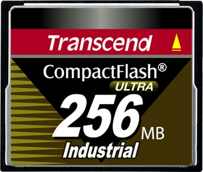Transcend Industrial Ultra Compact Flash (PIO) 256MB Card (100x)