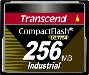 Transcend Industrial Ultra Compact Flash 256MB Card (100x)