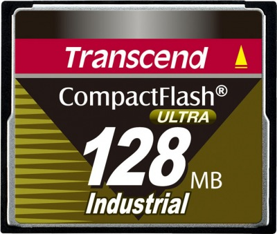Transcend Industrial Ultra Compact Flash 128MB Card (100x)