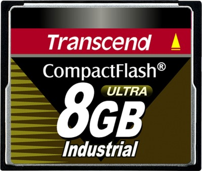 Transcend Industrial Ultra Compact Flash 8GB Card (100x)