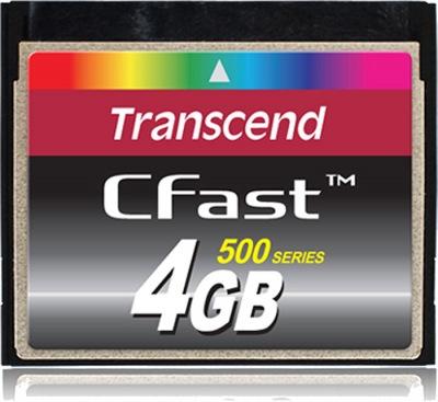 Transcend CFast 4GB Card