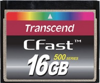 Transcend CFast  16GB Card