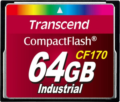 Transcend CF170 Compact Flash 64GB Card