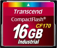Transcend CF170 Compact Flash 16GB Card