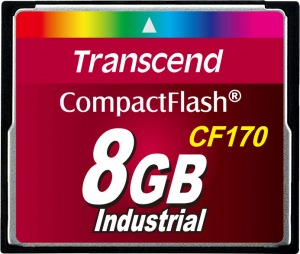 Transcend CF170 Compact Flash 8GB Card