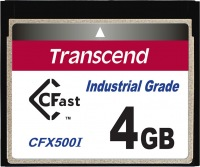 Transcend Industrial Temp CFast 4GB Card